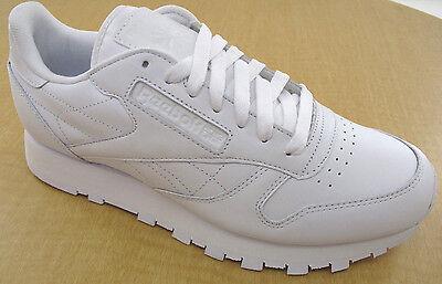 Reebok Classic Leather R12 Mens White Walking Shoes NWD Medium NO BOX | eBay