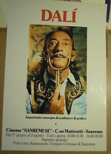 POSTER-034-DALI-039-034-Uberpruefung-der-Skulptur-E-DI-Grafik-San-Remo-1980ca-MAN
