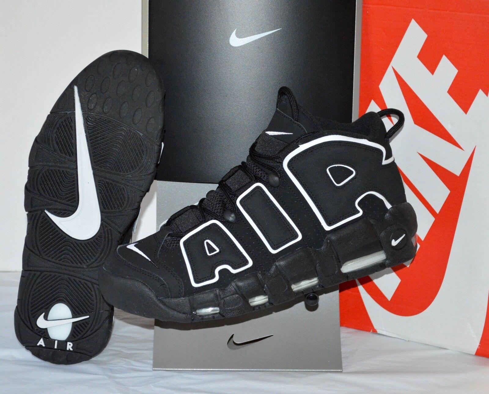 Nike Air More Uptempo 2016 Retro Black White sz 11 Scottie Pippen Max