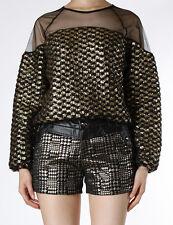 gold panel top sheer lace mesh shoulder chest henry kpop korea super junior
