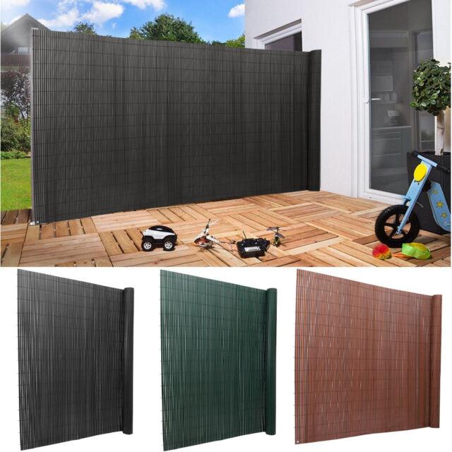2 Types Balcony Privacy Screen Sunshade Protection Panel Garden Fence Garden Fencing Supplies Privacy Screen