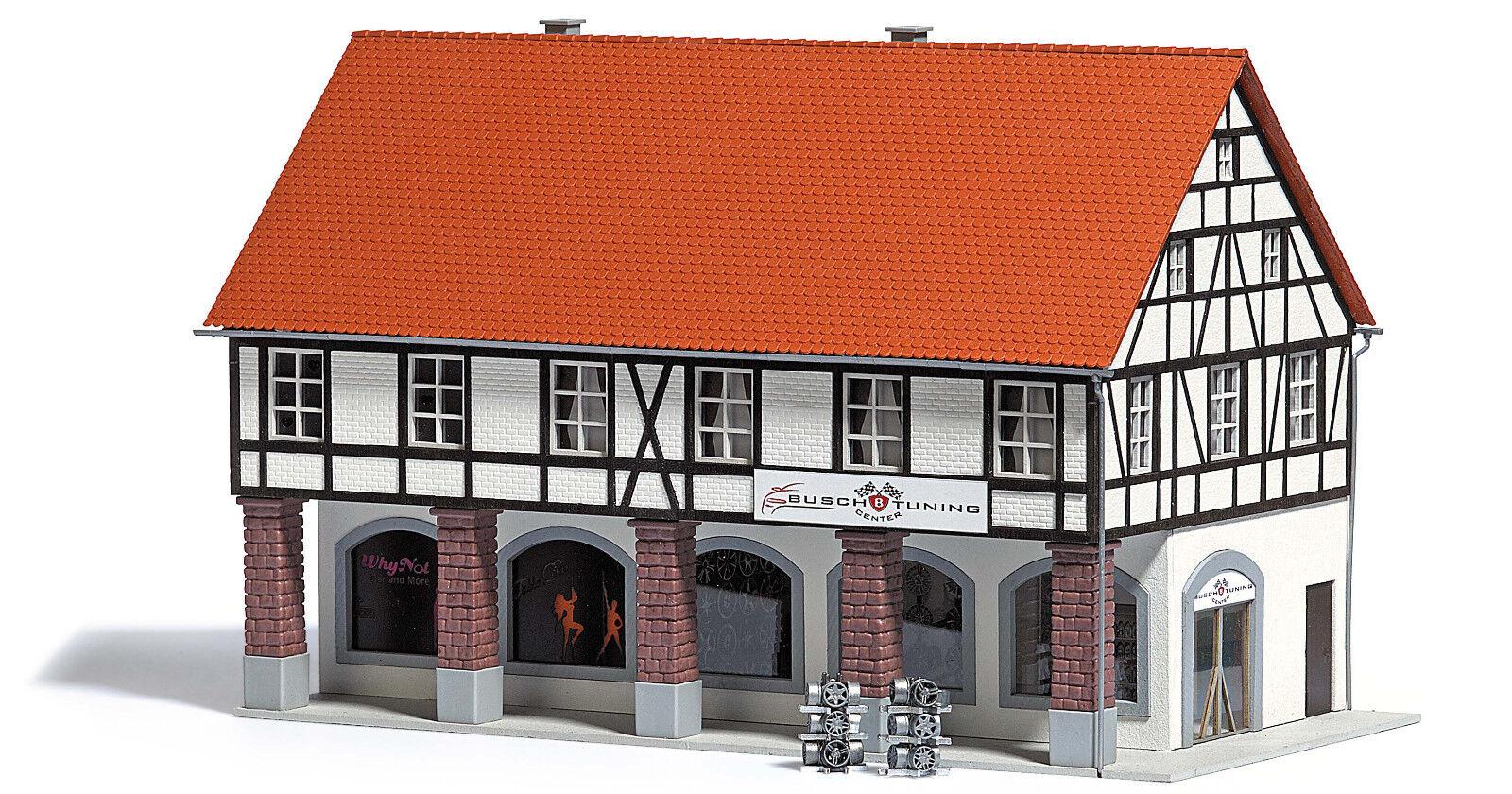 Busch 1539 buschheide altstadthaus con monasterios madera auténtica pista h0 nuevo en el embalaje original