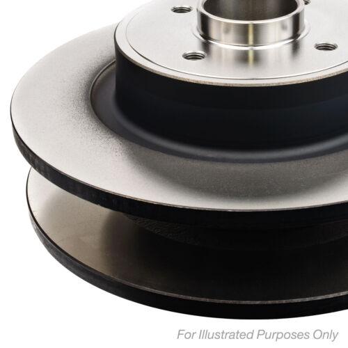Fits Fiat 500C 0.9 Twinair Genuine Borg /& Beck Front Solid Brake Discs Set Pair