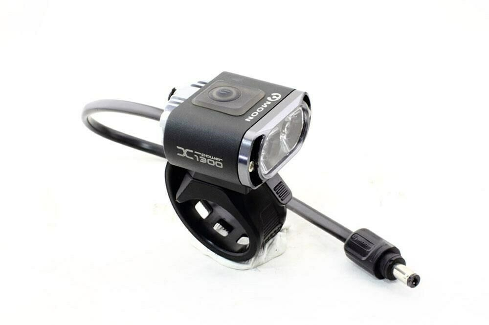 Moon X Power 1300 Bicycle Alloy Front 2 LED Bike Light Weiß 1300 Lumens NEW