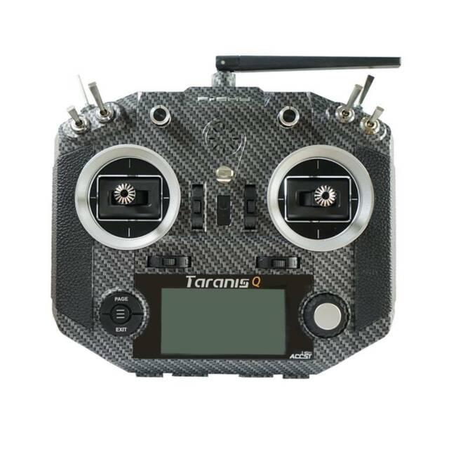 FrSky Taranis Q X7S Radio w/ Upgraded M7 Hall Sensor Gimbals (Carbon Fiber)