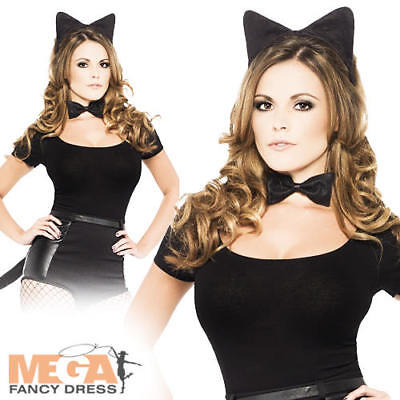 Halloween Animal CAT TAIL with BELT Womens Ladies Fancy Dress Costume Accessory