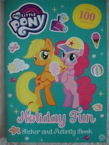 My-Little-Pony-Holiday-Fun-Sticker-Activity-Book-Brand-New-RRP-3-99
