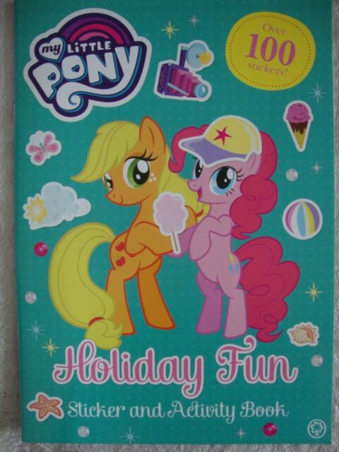 My Little Pony Holiday Fun Sticker Activity Book Brand New RRP £3.99