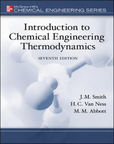 Introduction to chemical engineering thermodynamics by michael m resntentobalflowflowcomponenttechnicalissues fandeluxe