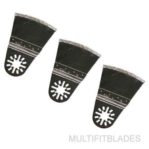 "3 x 2-5//8/"" Oscillating Tool Flush Cut Diamond Blade Fein Multimaster Compatible"