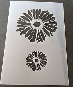 Dandelion Hearts Mylar Reusable Stencil Airbrush Painting Art Craft DIY home