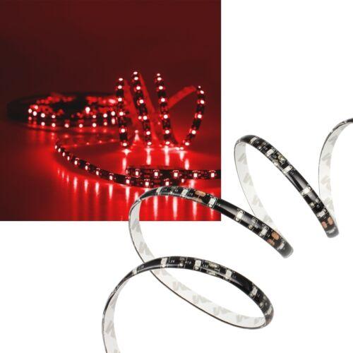 Leds Stripe 4,75€//m 5m SMD Led Leiste Strip ROT flexibel 12V mit 300 SMDs