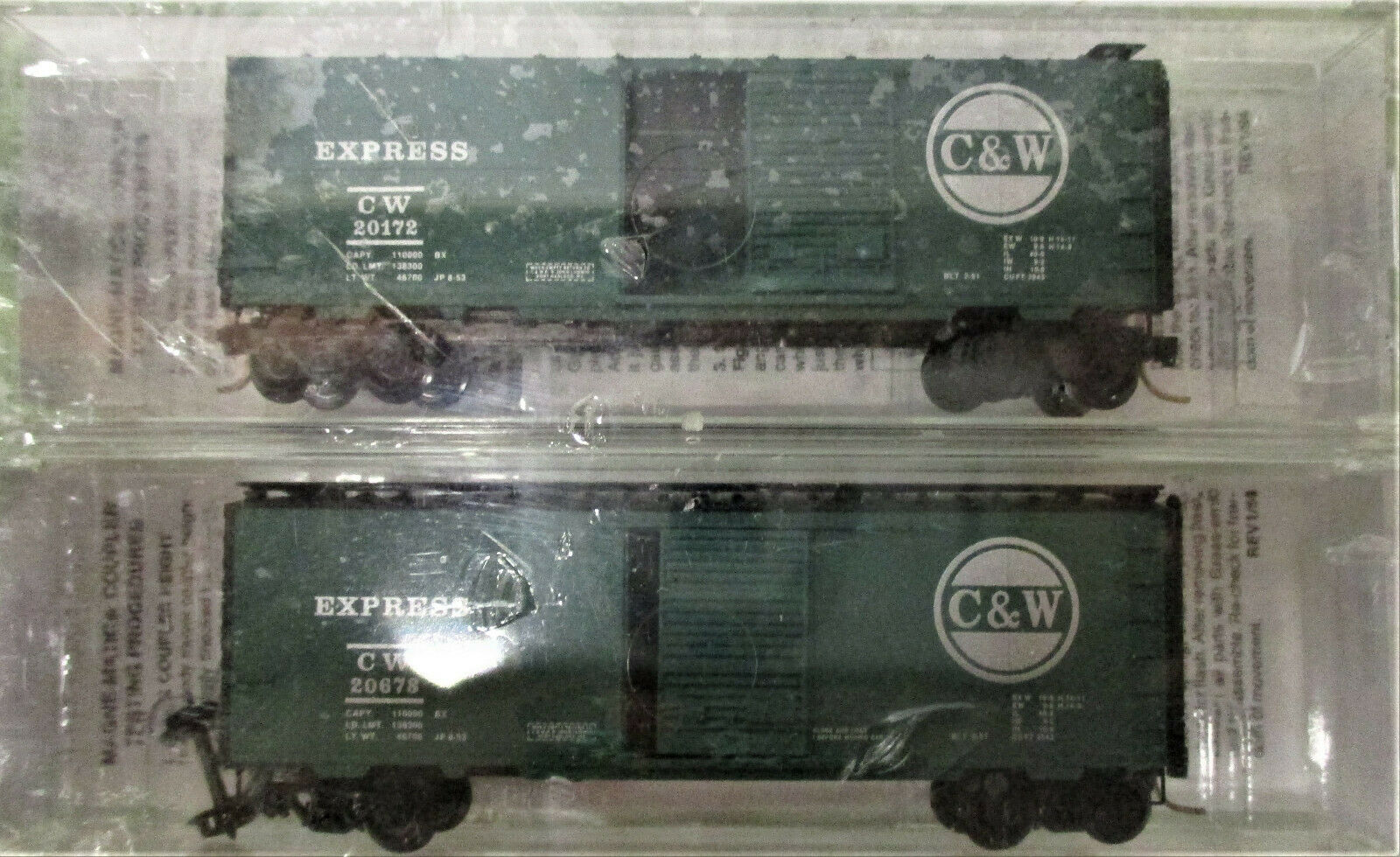 Micro-Trains Line Special Run Cascade and Western C&W N Scale