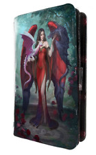 Multi Coloured us:one Size Nemesis Now Dragon Mistress James Ryman Embossed Purse 18.5cm Red
