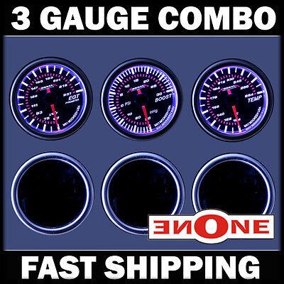 Tan 99-07 Ford Super duty Triple Pod LED color EGT psi Boost Trans Temp Gauges