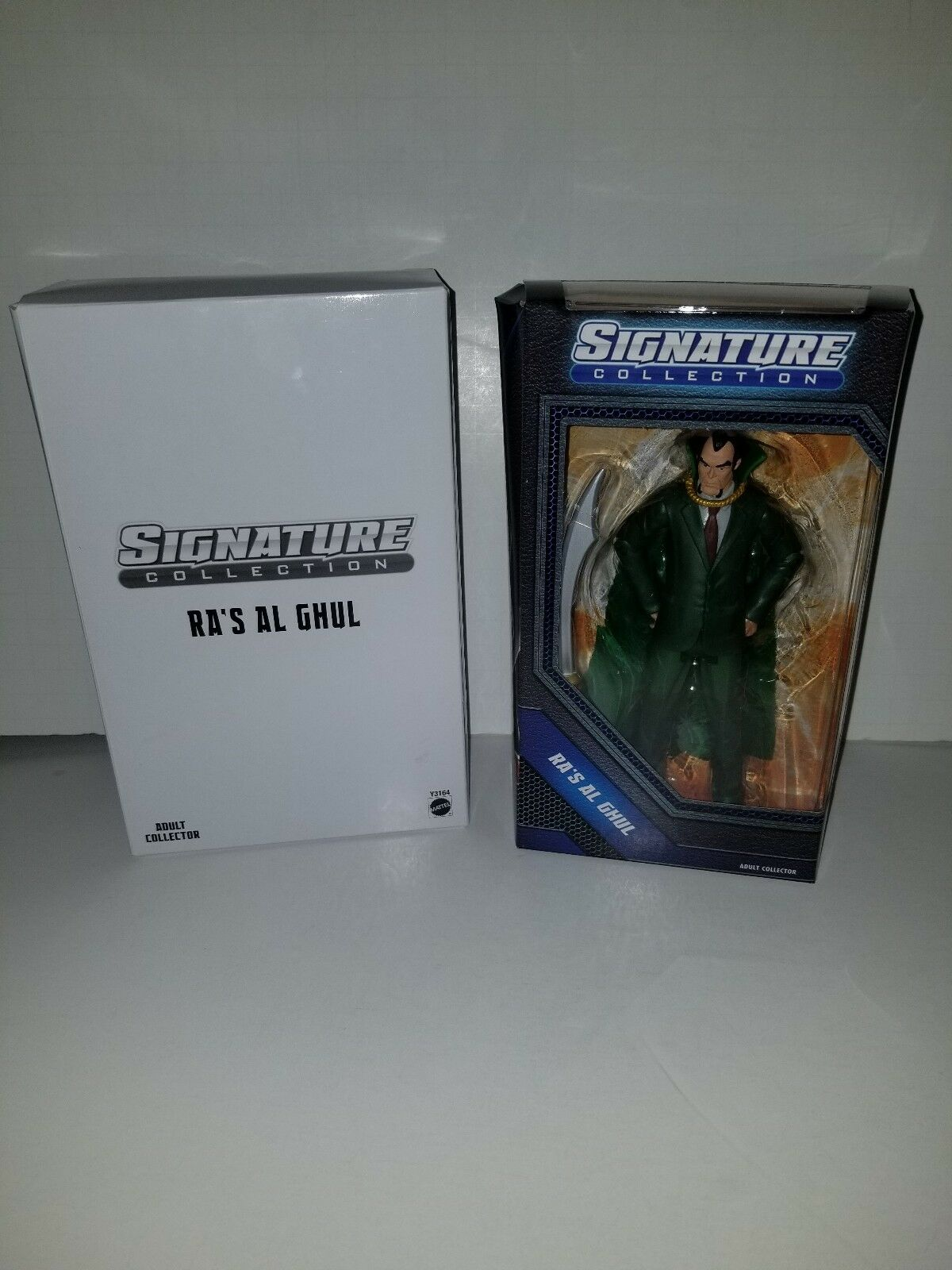 DC Universe Signature Collection Ra's Al Ghul Figure Club Infinite Earths DCUC