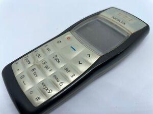 Nokia 1100-Jet Black (entsperrt) Handy