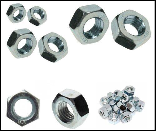 M4 M5 M6 M8 Grade 8.8 Assorted Kit Nuts Bolts Setscrews Washers Zinc 630 pieces
