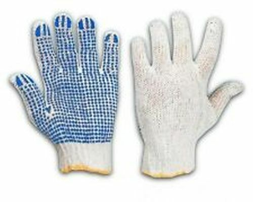 Click 2000 Tronix Nylon Glove Latex Dotted Palm Small Grip Gloves