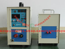 25KW 30-80KHz Dual Station HIGH Frequency Induction Heating Melting Furnace