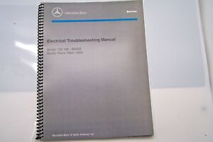 1985 1983 mercedes 300sd owners electrical service manual w126 1984 rh ebay com 1979 300SD 1984 mercedes 300sd owners manual