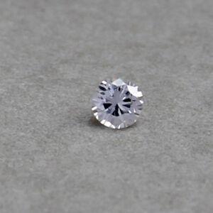 2,5mm D-F VS Brillant Brilliant 2,5 2,6 Natürlicher Diamant 0,05ct 2,4mm