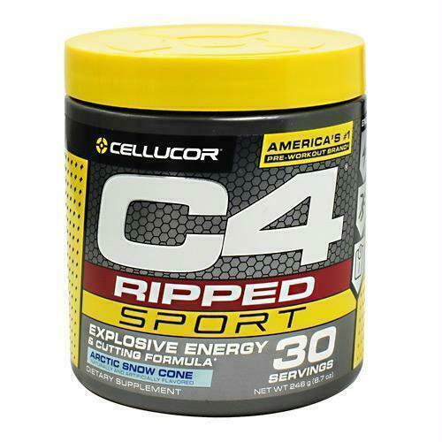 Cellucor C4 Pre Workout Powder Artic Snow Cone 30 Servings R