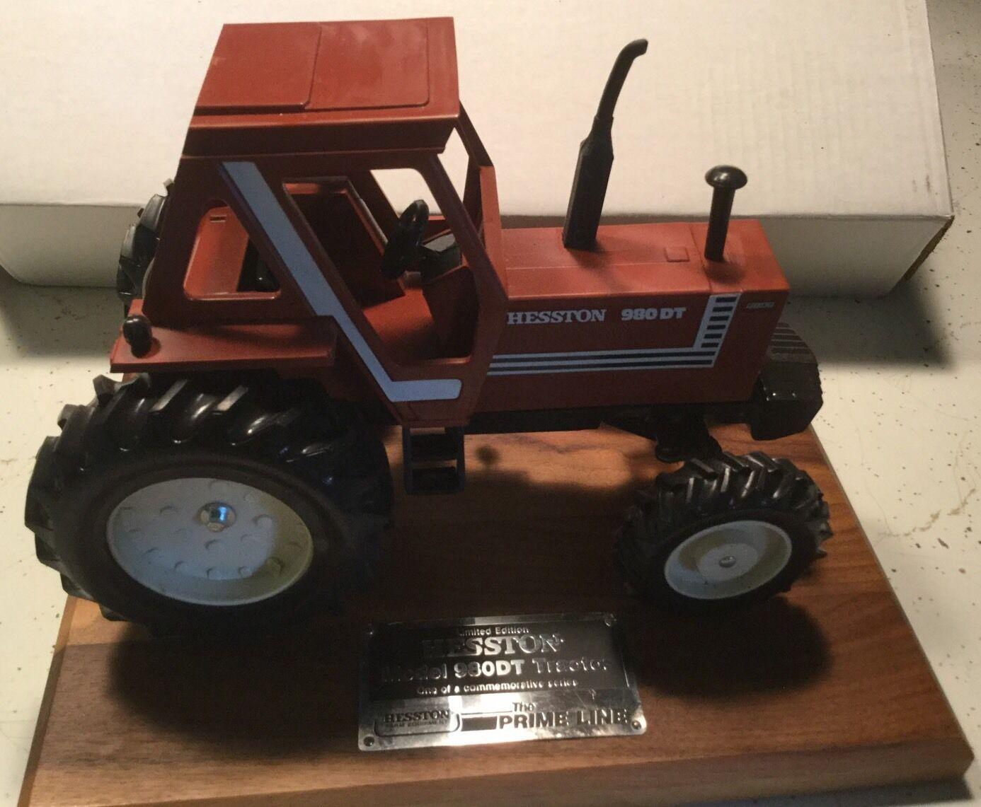 Hesston Fiat Model 980DT. 4-Wheel Drive Commemorative Model Tractor