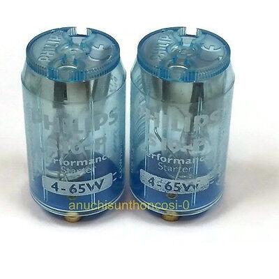 4x Starter Leuchtstoffröhre Phillips S10 4 6 8 16 18 20 36 58 Watt 4-65Watt