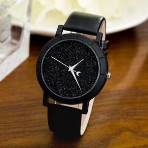 Fashion-Mens-Lady-Lovers-Star-Minimalist-Watches-Retro-Leather-Strap-Wrist-Watch