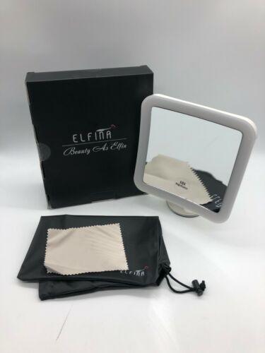 ELFINA Kosmetikspiegel//Rasierspiegel mit LED 10-Fach Vergrößerung EDK41.1