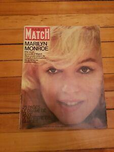 MARILYN-MONROE-Paris-Match-1962-Complete-VERY-RARE