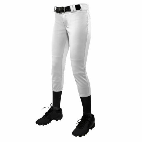 Champro rápido Pitch Softball Chicas torneo tradicionales pantalón de baja altura