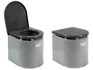 Imperdibile wc chimico vaso bagno portatile con vaschetta giganplast ...