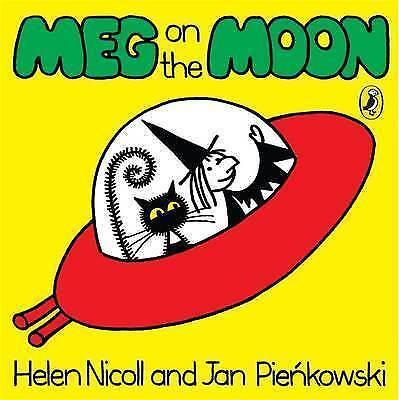 Meg on the Moon (Meg and Mog), Nicoll, Helen, Good Book