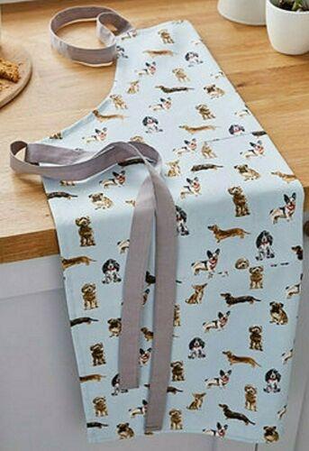 Schürze Küchenschürze Curious Dogs Hunde Hundemotiv Baumwolle Cooksmart England