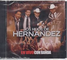 SEALED - Los Hijos De Hernandez CD NEW En Vivo Con La Banda SEALED