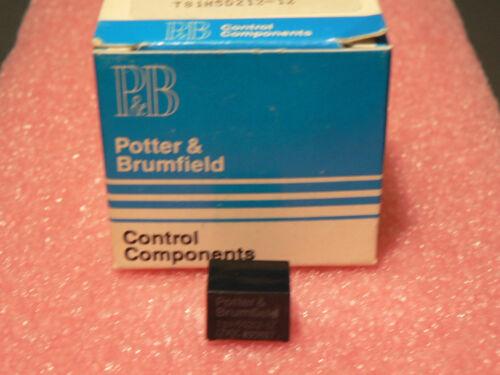 4 PCS POTTER /& BRUMFIELD T81H5D212-12 SENSITIVE COIL 12VDC 1A PCB RELAY