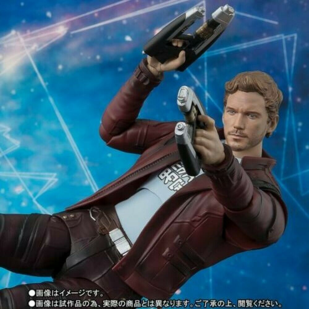 S.H.figuarts Guardians of the Galaxy Remix Star Lord Action Figure Marvel