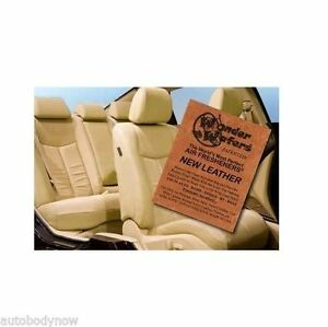 Wonder-Wafers-Qty-25-pack-NEW-LEATHER-Scent-Car-Truck-Air-Freshner-Wafer-/3516796