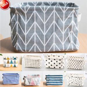 Foldable-Linen-Storage-Bin-Closet-Container-Organizer-Fabric-Basket-Waterproof