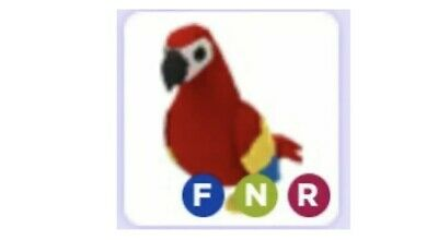 Roblox Adopt Me Legendary Neon Fly And Ride Parrot Pet Fnr Ebay