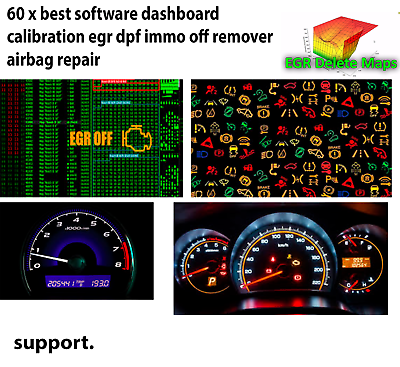 Car Software V 5.2 Universal Software IMMO EGR OFF Instant Delivery
