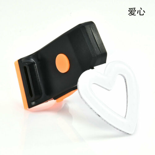New USB Rechargeable Bike Rear Tail Light LED Bicycle Warning Safety Smart Lamp