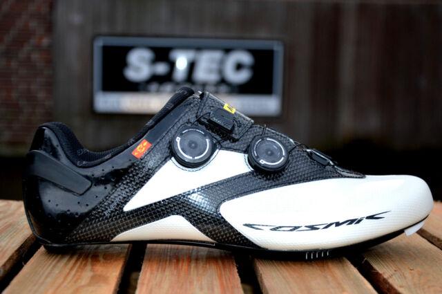 e04e7f1160b Mavic Cosmic Ultimate II White/Black Carbon Road Bike Shoes SPD Sl Gr: 44