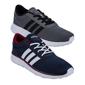 Mens-adidas-Neo-Lite-Racer-Trainers-In-Grey-From-Get-The-Label