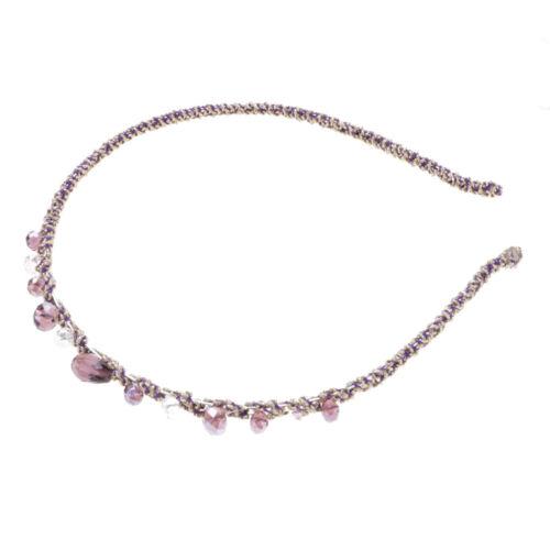 Fashion Women Girls Rhinestone Crystal Headband Glitter Hair Band Headwear Gift
