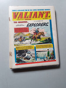 VALIANT COMIC - 8 consecutive issues from 1964