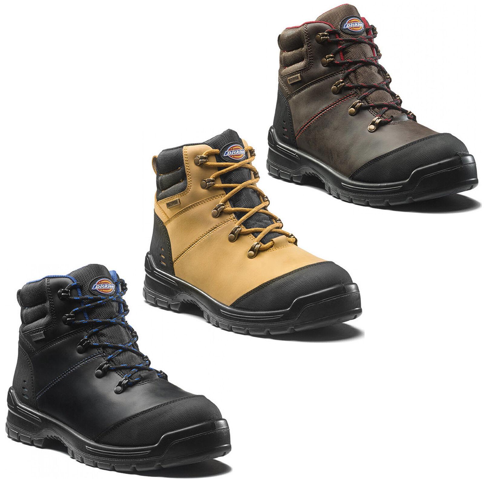 Dickies Cameron Stivali di sicurezza impermeabile Uomo COMPOSITO Punta Scarpe Da Uomo impermeabile a60fd3