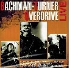 CD NEU/OVP - Bachman-Turner Overdrive - Live